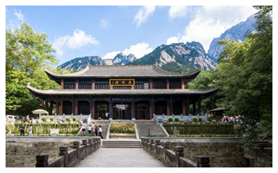 Temples in Huangshan Mountain