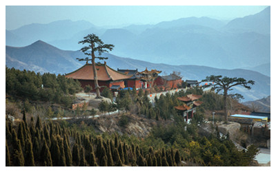 Hengshan Mountain Scenic Area