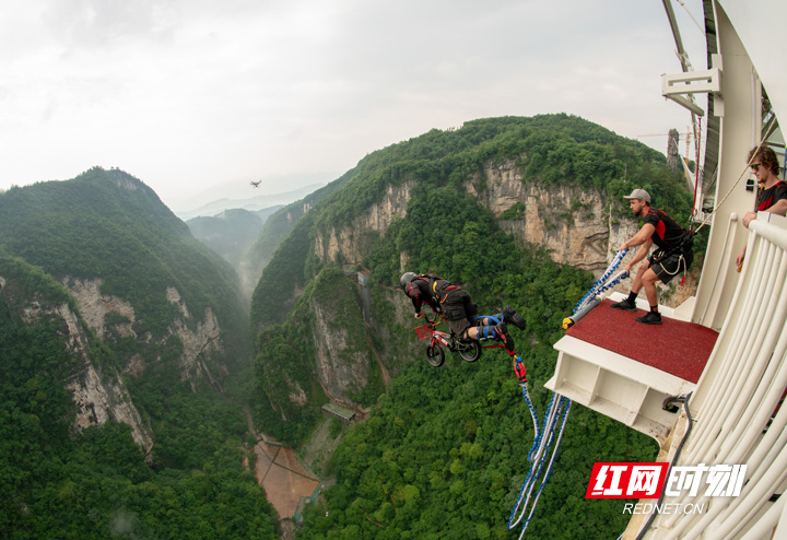 Zhangjaijie bungee jumping will be opened on Dec 15,2020